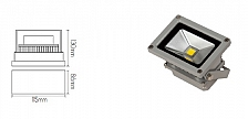 Projector Light 10W Led IP65 80lm/W