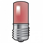 LAMP E10 - LED ROOD